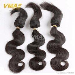 Canada Brésilienne Virgin Body Wave tresses dans les armures tresse dans des faisceaux de cheveux humains en gros extensions de cheveux brésiliens Offre