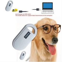 tier ohr tags Rabatt Der Umsatz!!! 134.2khz Portable Animal ID Microchip-Erkennungsleser FDX-B ISO 11784/11785 RFID-Handheld-Tag-Scanner