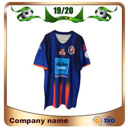 marca de uniformes de futbol Rebajas 19/20 Singhtarua F.C Soccer Jersey 2019 Marca Casa camiseta Fútbol Manga corta Fútbol uniformes Liga club Ventas personalizadas