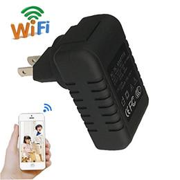 Deutschland HD Mini Wifi Adapter Kamera Wireless Nanny Cam 1080 P Ladegerät Mini Kamera Überwachungskamera für Home Office Telefon Fernsicht supplier wireless home phone adapter Versorgung