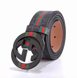 Canada Hommes haute qualité ceinture en cuir ceinture personnalisée ceinture en cuir personnalisé ceintures de haute qualité pour hommes G 100-125CM Offre