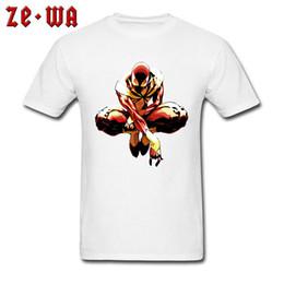 Chemise spiderman blanche en Ligne-Hommes T-shirts Iron Spiderman T-shirt Nouvelle Arrivée High Street Tshirt Personnalisé 100% Coton Blanc Tops Marvel Tees Comique Designer