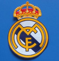 Équipe de football de madrid en Ligne-Football Patch souvenir Real Madrid Patch Team logo souvenir Football Patch Badges Maillot de football