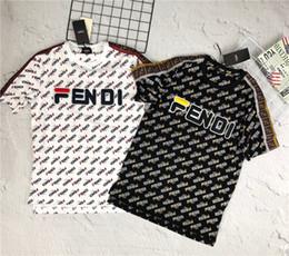 2019 t-shirt design per le donne 19ss nuovo marchio di moda italiano design Fend Mania Full FF stampa T-shirt uomo e donna moda traspirante streetwear t-shirt outdoor t-shirt design per le donne economici