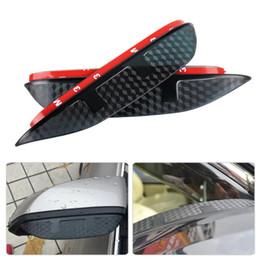 2019 espelho opel SNCN 2 PCS Retrovisor Chuva Sobrancelha Guarda Tampa Da Porta Lateral Espelho Viseira Escudo Fit para Chevrolet Captiva Aveo Cruze Malibu Faísca Trax