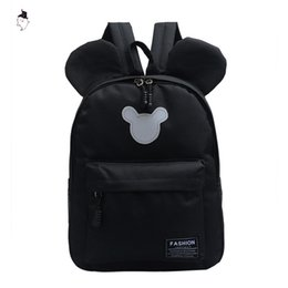 e274d21019e New hot Children s backpack new Mickey small school student bag Korean  version of the casual hit color travel bag kindergarten bag for child