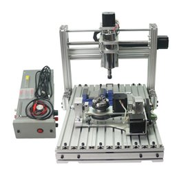 5 eixos DIY cnc router máquina 3060 cnc máquina de gravura 300 * 600mm área de trabalho com 400 w DC fuso frete grátis de Fornecedores de eixos do roteador