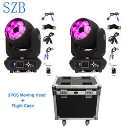 ha condotto il lavaggio del fascio della testa mobile Sconti SZB Bee Eyes Moving Head Light 6x40W RGBW 4in1 LED Beam Wash Moving Head Light con Flight Case / SZB-MH0640