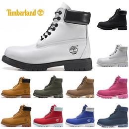 Timberland groschaussures hommes de luxe femmes chaussures de sport de neige marron noir blanc hiver chaussures de sport en plein air entraîneurs des
