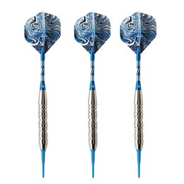 sport tips Coupons - 3pc set 21g 154mm Electronic Soft Tip Darts With Cool Pattern for Indoor Darts Game Sports