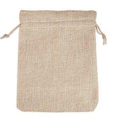 4 Taglie colore originale borsa Borsa con coulisse Matrimonio Natale Confezioni Pochette Sacchetti regalo Piccola bigiotteria Bustina Mini sacchi di iuta da