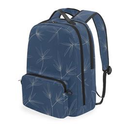 mochila menina azul claro Desconto ALAZA Escola Bags Mulheres multi-função 2-em-1 Mochila menina saco azul claro destacáveis Mochilas Estudante rosa Mochilas escolares Lazer