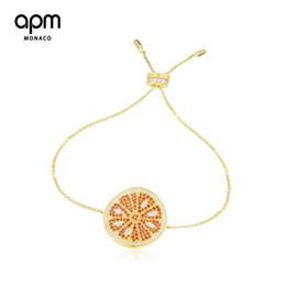 Bracelete de cristal encantador em ouro 18k banhado a ouro on-line-Luxo Charm Bracelets designer de jóias pulseiras para as mulheres 18 k Banhado A Ouro Swarovski diamante de cristal 22 cm ajustável