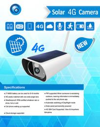 Cámara de visión nocturna al aire libre impermeable online-Yobang Seguridad Inalámbrica Energía Solar 4G SIM al aire libre Impermeable 1080P 3.0M Vigilancia Seguridad Cámara CCTV WIFI IR Visión nocturna