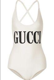 Argentina Diseñador de verano de una sola pieza traje de baño para mujeres Bikini de lujo establece la marca de moda traje de baño con letras G Sexy Backless trajes de baño S-XL Suministro