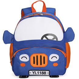 2019 vetture borsa scuola zaini per bambini MoneRffi 2019 Zaini per scuola Ragazzo Zaini per bambini Zaini per auto 3D Cartoon 2-5 anni Borsa per scuola materna per bambini vetture borsa scuola zaini per bambini economici