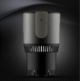 2019 Nova Chegada Portátil Carro Refrigerador Elétrico e Mais Quente Capacidade Maior 12 V 30 W Suporte de Copo de Modo Duplo Copos de Carro Anti-vibrante de