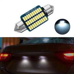 Lâmpadas kia on-line-1X LED 36mm Branco Canbus C5W Lâmpadas 3014 SMD Interior Luzes Da Placa de Licença Luz Para Kia Sportage Cerato