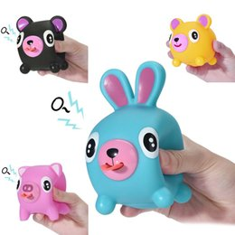 Juguetes alternativos online-Squishy Stress Tongues Kids Toys Exquisite Fun Cute Alternative Humorous Light Hearted Funny Stress Reliever Toys para niños