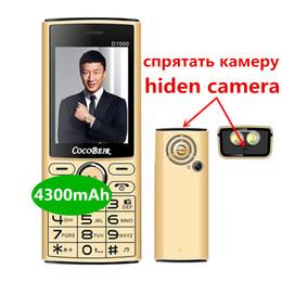 banco de potência 4300 mAh Desbloqueado Mobile Phone 2,4 polegadas dual sim celular Memória Rápida celular Lanterna MP3 FM Radio D1000 Rádio retro telefone de