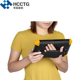 Billige tabletten bluetooth online-Günstige Wasserdicht Touch Screen 4G / WIFI / Bluetooth Mobil UHF-RFID-Tablet Android POS mit Fingerabdruck-Leser-Z200