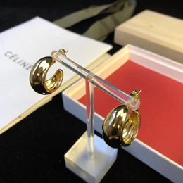metà orecchini Sconti Semplice materiale in ottone stile speciale a forma di ciondolo a forma di goccia pendente per le donne regalo di nozze gioielli festa di nozze PS6677A