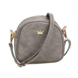 good quality 2019 Women Bag Imperial Crown Women Messenger Bag Small Shell Crossbody  Bags Pu Leather Fashion Designer Handbag Bag small barrel handbags ... 917ca5c071026