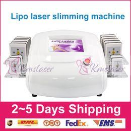 i lipo laser machine Rebajas 650nm i lipo diodo láser / diodo lipo láser / láser equipo de eliminación de grasa / diodo láser liposucción Máquina (14 paletas)