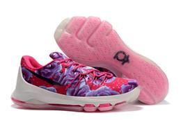 2018 Новый KD 11 EP белый оранжевый пена розовый параноидальный Oreo ICE Повседневная обувь оригинальный Кевин Дюрант XI Kd11 мужские кроссовки Кроссовки Size40-46 от