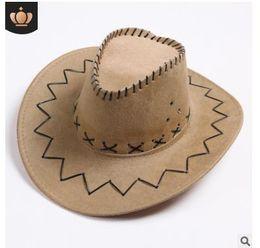 937720459c Sombrero de vaquero occidental Sombrero de vaquero del oeste americano  universal para hombres y mujeres