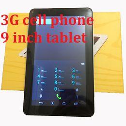 3G-Telefon 9 Zoll Tablet PC MTK6572 Android4.4.2 Tablet 512 MB RAM 4 GB Rom IPS-Bildschirm wifi Bluetooth von Fabrikanten
