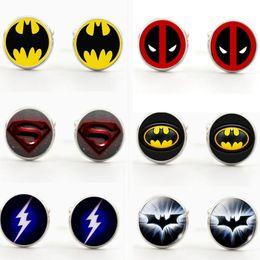 2020 gemelli lampeggianti DC Comic Marvel The Avengers Super uomo Batman Flash Deadpool Gemello Gemelli Gemelli in vetro gemelli lampeggianti economici