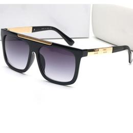 Tendencia de moda gafas de sol retro con montura brillante para mujer Gafas  para mujer Visera de sol Gafas de marca de lujo de buena calidad 4 colores eb636c5cceb4