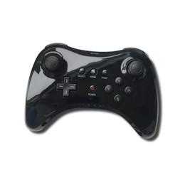 Klassischer controller pro online-A + + + OEM Fabrik Für WiiU Gamepad Klassische Wireless Controller Für Nintendo Wii U Pro Spielkonsole Griff Zubehör