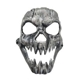 Sorridente Teschio Maschera Teschio Maschera morti cranio scheletro MASCHERA HORROR