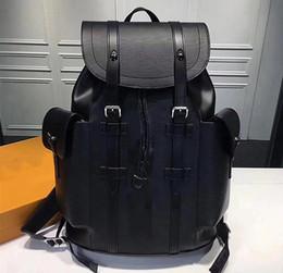 Bolsos de diseño rojo negro online-Bolsos de las mujeres de lujo Venta Caliente mochilas diseñador 2018 moda mujer dama negro rojo bolso de la mochila encantos envío gratis
