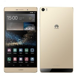 smartphone en acier inoxydable Promotion Huawei d'origine Max 4G LTE P8 Cell Phone Kirin 935 Octa base 3 Go de RAM 32 Go 64 Go ROM Android 6.8 pouces IPS 13MP OTG Smart Mobile Phone Unlock