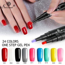 82b6d90590 Nail Gel Varnish Pen Glitter 3 In 1 One Step Nail Art Gel Polish Hybrid 60  Colors Easy To Use UV Gel Lacquer