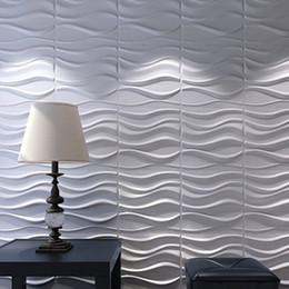 Canada Les panneaux de mur 3D plantent le blanc de fibre pour la décoration intérieure 12 PCs 32 Sq.Ft Offre
