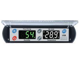 2019 NUEVO USB Control de temperatura y humedad Nuevo termómetro de interior Control de higrómetro Alarma Pantalla LCD digital controlador desde fabricantes