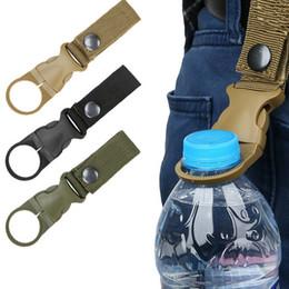 hebilla de cinturón de mosquetón Rebajas Correas de correas de hebilla multifuncionales Botella de agua de nylon de alta resistencia Mosquetón Cinturón Colgante Llavero Gancho de llave