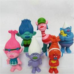 juguetes de enredo Rebajas Película Trolls Juguetes de amapola Figuras de acción Juguetes Muñecas Rama Muñeca para niños Regalo de Christams Muñeca fea Los Elfos enredados