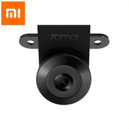 домашнее видео скрытая шпионская камера Скидка Xiaomi 70mai Автомобильная резервная камера 720P ночного видения IPX7 с двойной записью Водонепроницаемая задняя камера заднего вида с широким обзором