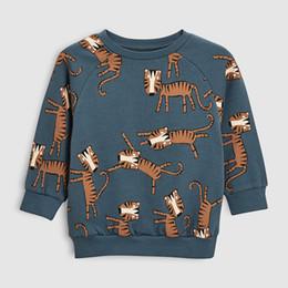 Kleine Maven 2019 Herbstjungen Markenkleidung Kinder Pullover Sweatshirts Jungen Baumwolle animal print Kindersweatshirts von Fabrikanten
