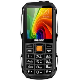 Canada Russe Débloqué, Arabe Espagnol 6800 mAh Double Carte Sim Tachographe Banque De Puissance Robuste Antichoc Mobile Téléphone P295 Offre