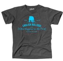 Canada T-shirt d'été pour homme avec imprimé TVL Hund Hunde BULLDOGUE ANGLAIS Vintage Logo Park Fun Siviwonder supplier english parks Offre