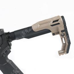 2019 canons m16 crosse tactique fantôme Airsoft accessoires nylon stock pour pistolets-jouets M4 AR15 M16 chasse canons m16 pas cher
