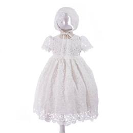 Canada Vêtements fille pour bébé baptême robe de baptême robe robe de baptême nouveau-né bébé fille vêtement robes de mariée premier anniversaire robes A3210 cheap christening dress 2t Offre