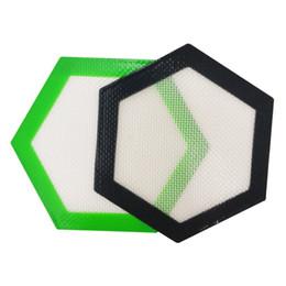 Качество FDA пищевого многоразового антипригарного концентрата восковое пятно воска с шестигранной формы термостойкого стекловолокна силиконовый коврик для подушки от