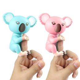 Confezione da dito elettronica Koala Pack Giocattoli da dito Interactive Monkey Monkey Intelligenza Decompressione Giocattolo intelligente Come il dito Baby Pet SH190913 da